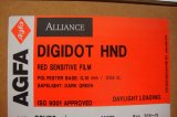 Agfa HND Digidot Film Spec. 600BD,1 Rolle im Format 520 mm x 50 m