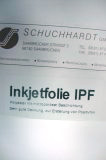 Inkjetfolie IPF transparent Format DIN A4 Stärke 130 mic, 1 VE =  100 Blatt