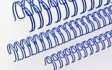 """Renz Drahtkämme 11 mm (7/16"""") Durchmesser, 3:1 Teilung, 34 Loops, blau, 1 VE=100 Stück"""