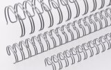 "Renz Drahtkämme 11 mm (7/16"") Durchmesser, 3:1 Teilung, 34 Loops, grau, 1 VE=100 Stück"
