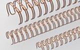 "Renz Drahtkämme 11 mm (7/16"") Durchmesser, 3:1 Teilung, 34 Loops, bronze, 1 VE=100 Stück"