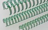 """Drahtkämme 16 mm 5/8"""" grün 3:1 Teilung, 1 VE = 50 Stück"""