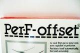 Perf-Offset Perforierband für Karton, 12 Zähne, 1,83-Meter-Rolle
